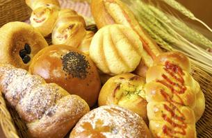 いろいろなパンの写真素材 [FYI04214928]