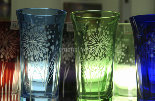 カラーグラスの写真素材 [FYI04214977]