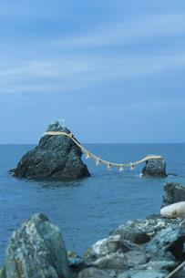 伊勢市二見町の夫婦岩の写真素材 [FYI04215104]