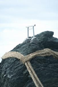 伊勢市二見町の夫婦岩の写真素材 [FYI04215108]