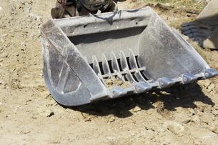 土木工事現場のショベルカーの写真素材 [FYI04218759]