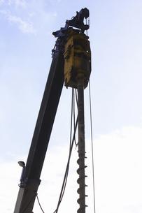 ボーリング掘削工事の写真素材 [FYI04219447]