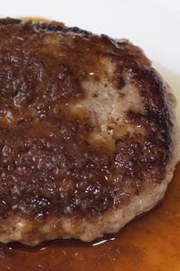 ハンバーグステーキの写真素材 [FYI04219708]