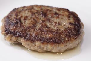 ハンバーグステーキの写真素材 [FYI04219712]