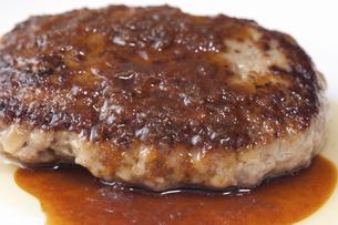 ハンバーグステーキの写真素材 [FYI04219713]