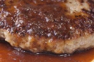 ハンバーグステーキの写真素材 [FYI04219714]