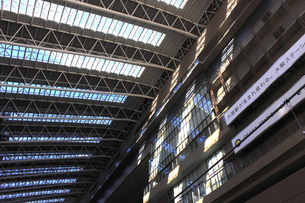 JR大阪駅の改修工事の写真素材 [FYI04220253]
