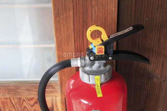 室内の消火器の写真素材 [FYI04220486]