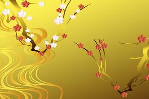 梅の花のイラスト素材 [FYI04221293]