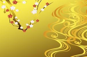 梅の花のイラスト素材 [FYI04221294]