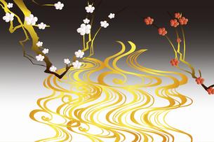 梅の花のイラスト素材 [FYI04221299]