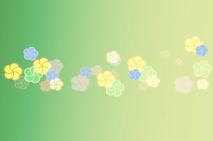 花の紋様のイラスト素材 [FYI04221347]