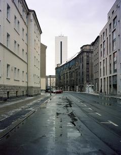 Landschaft mit Gebäudenの写真素材 [FYI04221378]