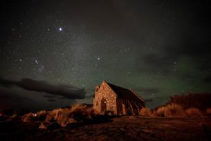 星空_テカポ_ニュージーランドの写真素材 [FYI04223201]