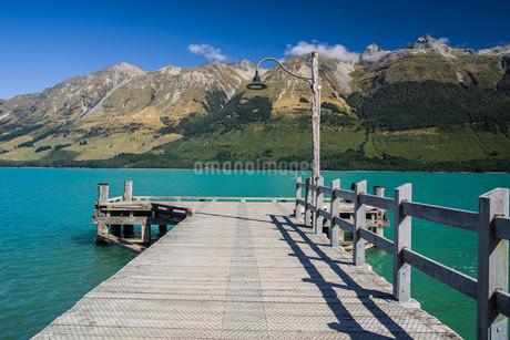 桟橋_グレノーキー_ニュージーランドの写真素材 [FYI04223272]