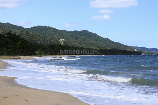 天橋立の砂浜の写真素材 [FYI04223794]