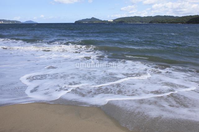 天橋立の砂浜の写真素材 [FYI04223800]