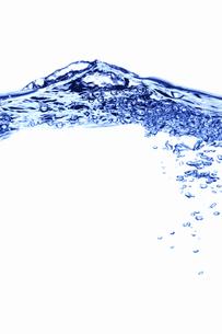 泡と水の写真素材 [FYI04224775]