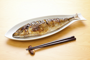 焼き魚アジの写真素材 [FYI04225237]