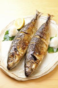焼き魚アジの写真素材 [FYI04225240]