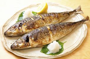 焼き魚アジの写真素材 [FYI04225241]