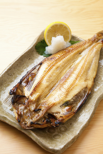 焼き魚ホッケの写真素材 [FYI04225256]