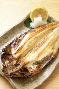 焼き魚ホッケの写真素材 [FYI04225258]