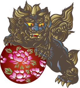 唐獅子のイラスト素材 [FYI04226415]