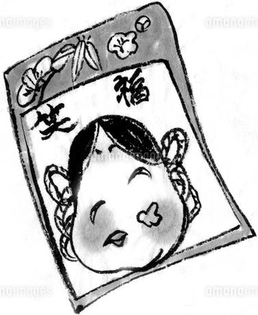 福笑いのイラスト素材 [FYI04226428]