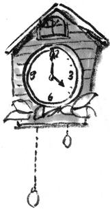 鳩時計のイラスト素材 [FYI04226586]