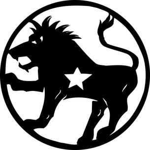 獅子座のイラスト素材 [FYI04226793]