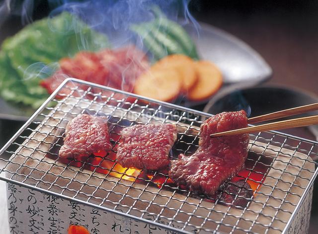 米沢牛焼肉の写真素材 [FYI04227562]
