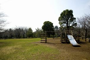すべり台と公園のイラスト素材 [FYI04228734]