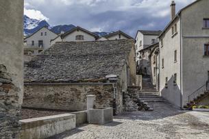 スイス、シンプロンの風景の写真素材 [FYI04228752]