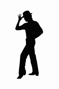 ダンス(シルエット)のイラスト素材 [FYI04229828]