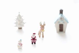 クリスマスの小物の写真素材 [FYI04231540]