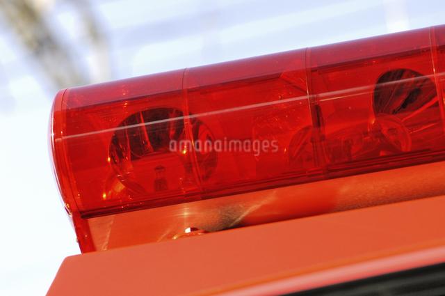 消防車の赤色灯の写真素材 [FYI04231727]