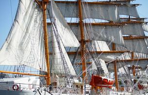 帆船の帆の写真素材 [FYI04233079]