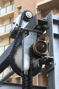 二段式パーキングの駆動歯車の写真素材 [FYI04233086]