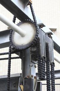 二段式パーキングの駆動歯車の写真素材 [FYI04233088]