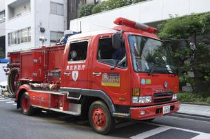 消防自動車 ポンプ車の写真素材 [FYI04235611]