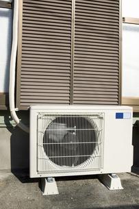 エアコンの室外機の写真素材 [FYI04236485]