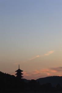 備中国分寺の朝の写真素材 [FYI04237145]
