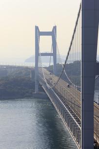 鷲羽山から望む瀬戸大橋の写真素材 [FYI04237271]