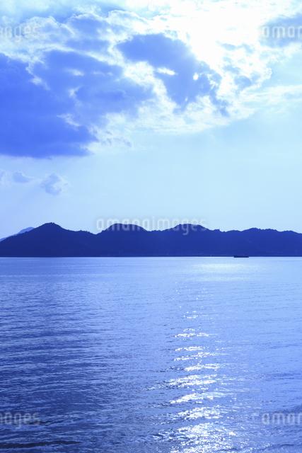 向島の海の写真素材 [FYI04237323]