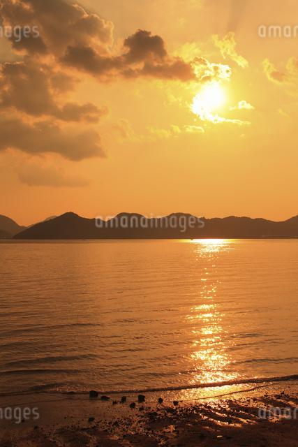 向島の海の写真素材 [FYI04237347]