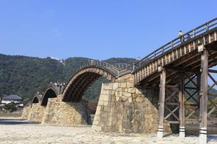 錦帯橋の写真素材 [FYI04237563]
