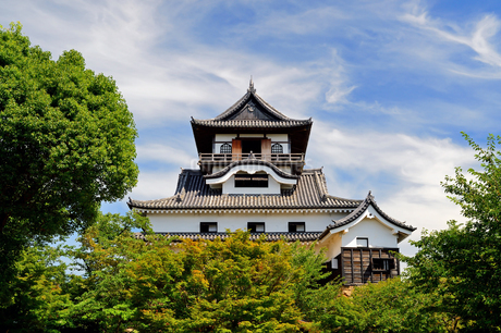 国宝犬山城の写真素材 [FYI04237589]