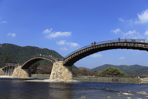 錦帯橋の写真素材 [FYI04237612]