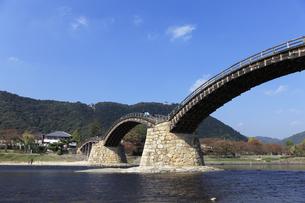 錦帯橋の写真素材 [FYI04237632]